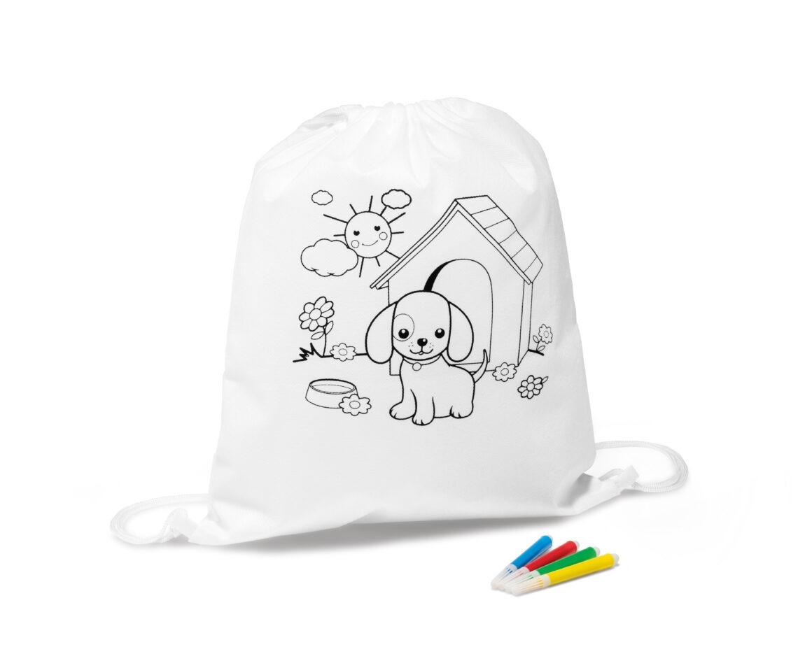 Kerra Children's colouring drawstring Bag Product Code GP92619