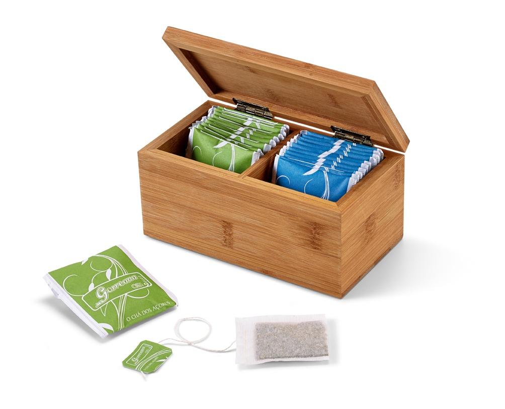 Gillan Bamboo Tea box Product Code GP93995