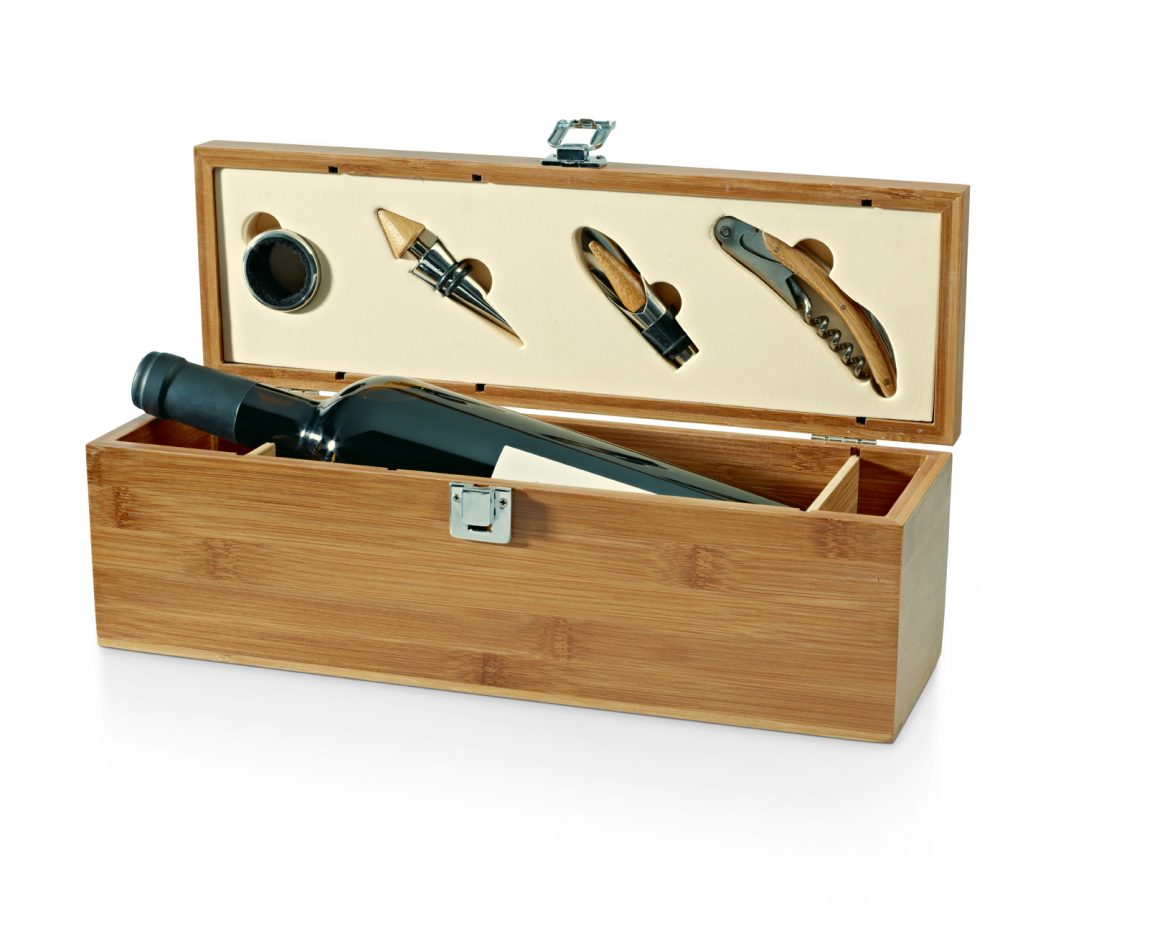 Cawsand Bamboo Wine set Product Code GP94189