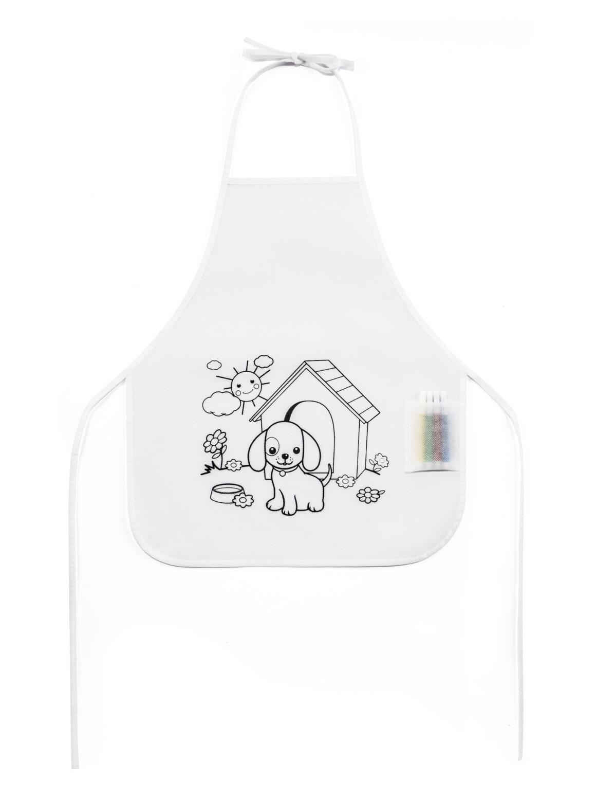 Penzance Children's colouring apron Product Code GP99834