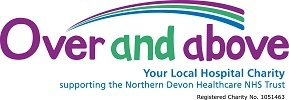 Over and above logo - your local hospital charity