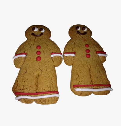 Bespoke gingerbread  men