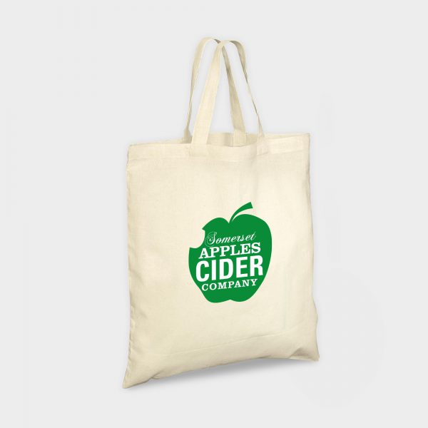 The Gloweasy Green & Eco Ethically sourced Organic cotton bag with short handles